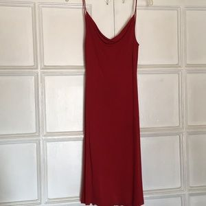 Diane Von Furstenberg sexy low back halter dress